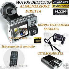 Spy Camera Spia FULL HD MOTION DETECTION TELECAMERA AUTO PER AUT MICROCAMERA
