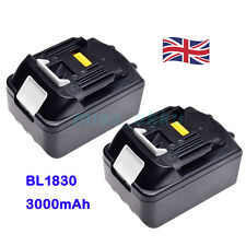 2X MAKITA 18V 3.0Ah LITHIUM ION BATTERY BL1830 LXT UK LATEST PACK NEW ☆☆☆