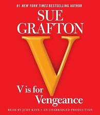 Kinsey Millhone Mystery: V Is for Vengeance by Sue Grafton (2011, CD,...