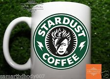 Stardust Coffee David Bowie - Starbucks Drink Tea Green Logo - Funny Mug (1x)
