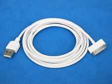 2M 6ft LONG Quick Fast Charge ONLY USB Cable WHITE for iPad 3 3rd Generation 2 1