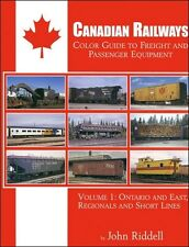 CANADIAN RAILWAYS Freight & Passenger: ONTARIO and East, Regionals & Short Lines