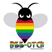BEE-OTCH With Pride Bumper Sticker Transformers Movie