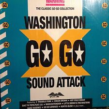 WASHINGTON GO GO SOUND ATTACK • VARIOUS • Doppio Vinile Lp • BCM GERMANY