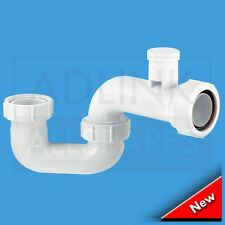 McAlpine 1.5in x 50mm Water Seal Anti-Syphon Bath Trap SMP10V