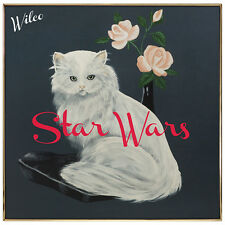 Wilco STAR WARS +MP3s w/ Live Set LIMITED Gatefold NEW WHITE COLORED VINYL LP