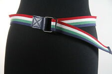 COOL MENS ITALY FLAG/NAVY BLUE BELT FOOTBALL(1-41INCH(SC44)