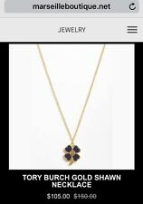 Tory Burch Necklace New W Tag Retail $150 On Sale Now