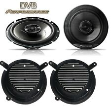 Mercedes SLK 96-04 Pioneer 17cm Front Door Speaker Upgrade Kit 240W