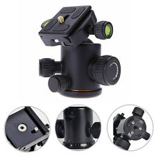12Kg Swivel Tripod Ball Head+Quick Release Plate for Camera Photo Video Studio