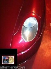 1997-2004 Porsche 911/996 & Boxster 986 Racing Style Headlight Covers UNPAINTED