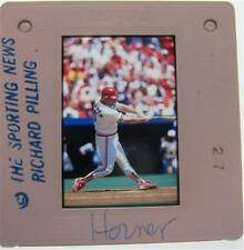 BOB HORNER ST LOUIS CARDINALS ATLANTA BRAVES Yakult Swallows ORIGINAL SLIDE 5