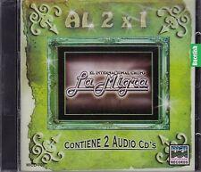 El Internacional Grupo La Migra Al 2x1 Contiene 2CD New Nuevo Sealed