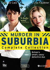 Murder In Suburbia Complete Collection - 4 DISC SET (2014, DVD NEW)