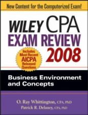 Wiley CPA Exam Review 2008: Business Environment and Concepts (Wiley C-ExLibrary