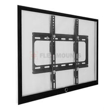 "Fixed Slim TV Wall Mount Bracket 26"" 32"" 37 42 47"" 50"" 52"" 55"" For Samsung Vizio"