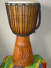 SALE 20 x 11 Deep Carving Djembe Bongo Drum M18 + FREE COVER