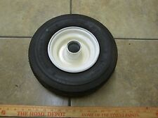 13 x 5.00 - 6 Carlisle Pneumatic (air filled) Tire with Rim 4 ply rating *NOS*