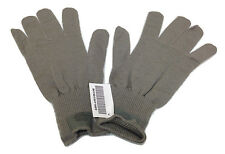 2 Pair USGI CW Lightweight Wool Glove Liners, Foliage Green  Medium-Large