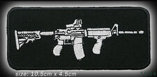 COLT AR-15 / M16 ASSAULT RIFLE Tactical Series  Embroidered Iron-On Patch - NEW