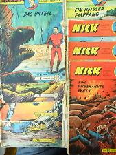8 x Comic - Nick - Pionier des Weltalls - Sammlung - Lehning
