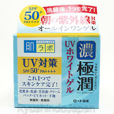 Rohto Hadalabo Gokujyun All-in-one UV Whitening Gel SPF50+ PA++++ 90g