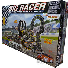 Golden Bright - Big Racer Electric Power Road Racing Slot Car Set 36' Track 6626