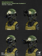 Easy & Simple 26006 MARSOC MSOT Sniper Ballistic Helmet Radio NVG Sunglasses Lot