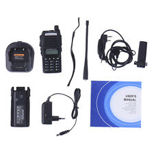 Baofeng Dual Band UV-82 VHF UHF FM Walkie Talkie Two-Way Radio with Seat Charger