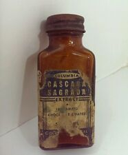 Old Columbia CASCARA SAGRADA Medicine Bottle