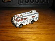 Vintage 1/64 Matchbox NASA Tracking Vehicle RV Camper Motorhome