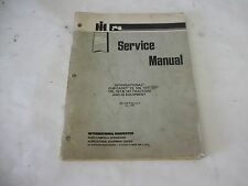 Cub Cadet Models 73 106 107 126 127 147 Tractors and IH Equipment Service Manual