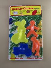 Cookie Cutter CAPERS Set NIP Painting + Recipe Rabbit Car Plane Gingerbread Man