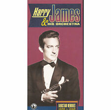 Harry James & His Orchestra Bandstand Memories 1938 to 1948 3 CD Box Set