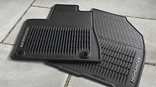 GENUINE TOYOTA HIGHLANDER ALL WEATHER FLOOR MAT 3 PIECE SET