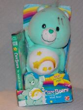 """Care Bear - Wish Bear with DVD """"The Wrath of Shreeky"""" NEW in Damaged Package"""