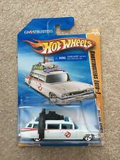 RARE 2010 nuovi modelli HOT WHEELS GHOSTBUSTERS ECTO 1 Long CARD 25/44