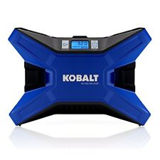 KOBALT Electric Portable Air Compressor 120 PSI 12 Volt & 120 Volt Tire Inflator