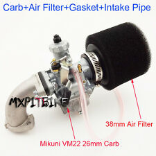 Mikuni Carburetor 26mm Carb Assembly Pit Dirt Bike 110cc 125cc 140cc SSR YCF BSE