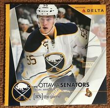 2015-16 Buffalo Sabres program 3/18/16 Ristolainen cover vs Senators