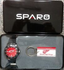 Detroit Red Wings Redwings Spirit Style Watch and Keychain Gift Set NHL Hockey