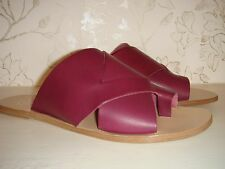ATP Atelier Ilaria Leather Sandals 38 Made in Italy All Tomorrow's Parties