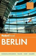 Fodor's Berlin (Travel Guide), Fodor's Travel Guides, Good Book