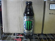 2 UBER Monster Energy Glass Bottle 16.9 oz Discontinued Limited Edition Unopened