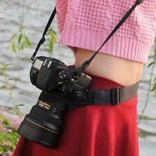 Photography DSLR Camera Waist Belt Holder Pack Band Strap Travel Bicycling Belt