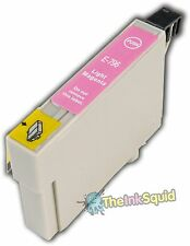 1 Light Magenta Non-OEM T0796 'Owl' Ink Cartridge with Epson Stylus PX800FW