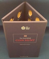 Brand New 2016 Royal Mint UK £1 Coin Collection Album - One Pound Coin Hunt