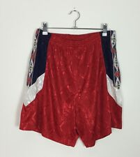 VINTAGE 90'S RED SPRINTER SHORTS SPORT ATHLETIC GYM RUNNING UK L/XL