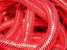 REAL RED METALLIC MINI TUBULAR CRIN CYBERLOX DREADS