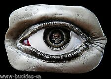 EVIL EYES WITCHCRAFT CURSE BAD LUCK SPELL PROTECTION MYTH IN BELT BUCKLE BUCKLES